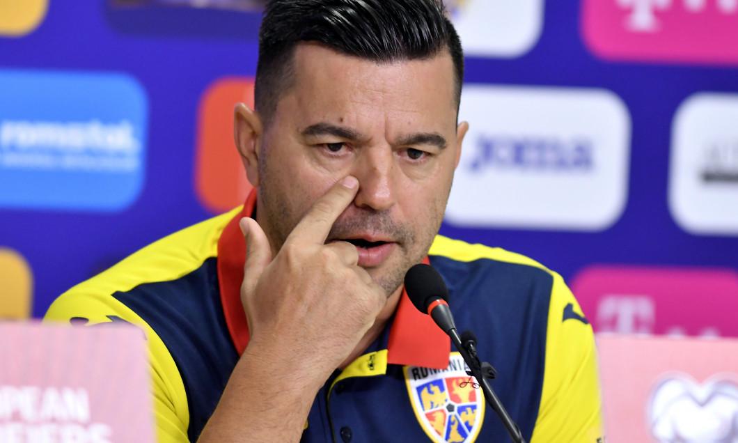 FOTBAL:CONFERINTA DE PRESA ROMANIA INAINTE MECI SPANIA (4.09.2019)