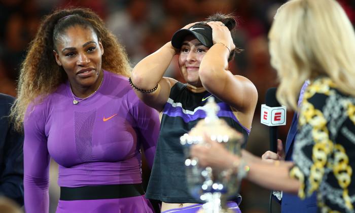 Finala US Open, Bianca Andreescu - Serena Williams