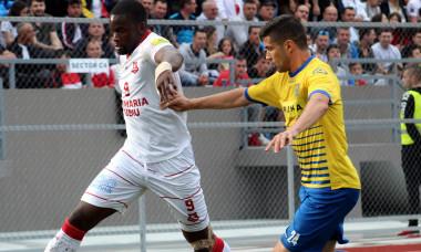 FOTBAL:AFC HERMANNSTADT-DUNAREA CALARASI, PLAYOUT LIGA 1 BETANO (2.06.2019)