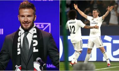 David Beckham Gareth Bale
