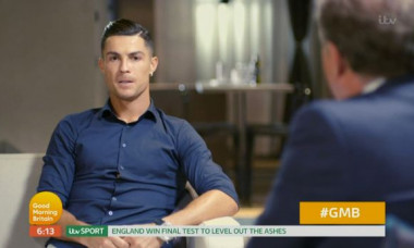 piers morgan ronaldo