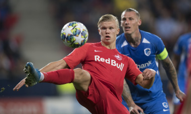 FC Salzburg vs KRC Genk  - Champions League Group E