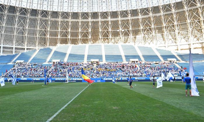 FOTBAL:CS U CRAIOVA-AEK ATENA, PRELIMINARII, EUROPA LEAGUE (8.08.2019)