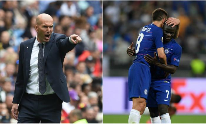 Zinedine Zidane N'Golo Kante