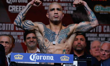 Miguel Cotto v Canelo Alvarez - Weigh-in