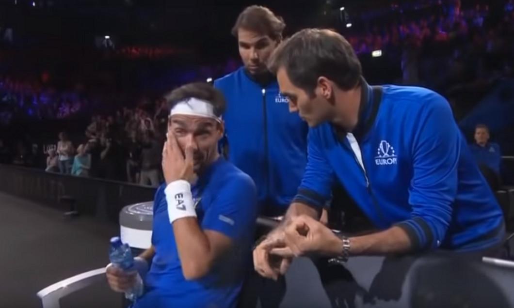 Federer Nadal Fognini