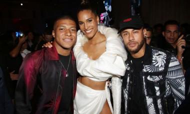 Neymar şi Kylian Mbappe