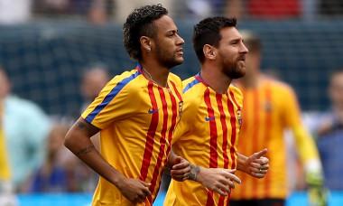 Neymar și Leo Messi