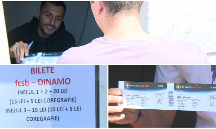 fcsb dinamo bilete
