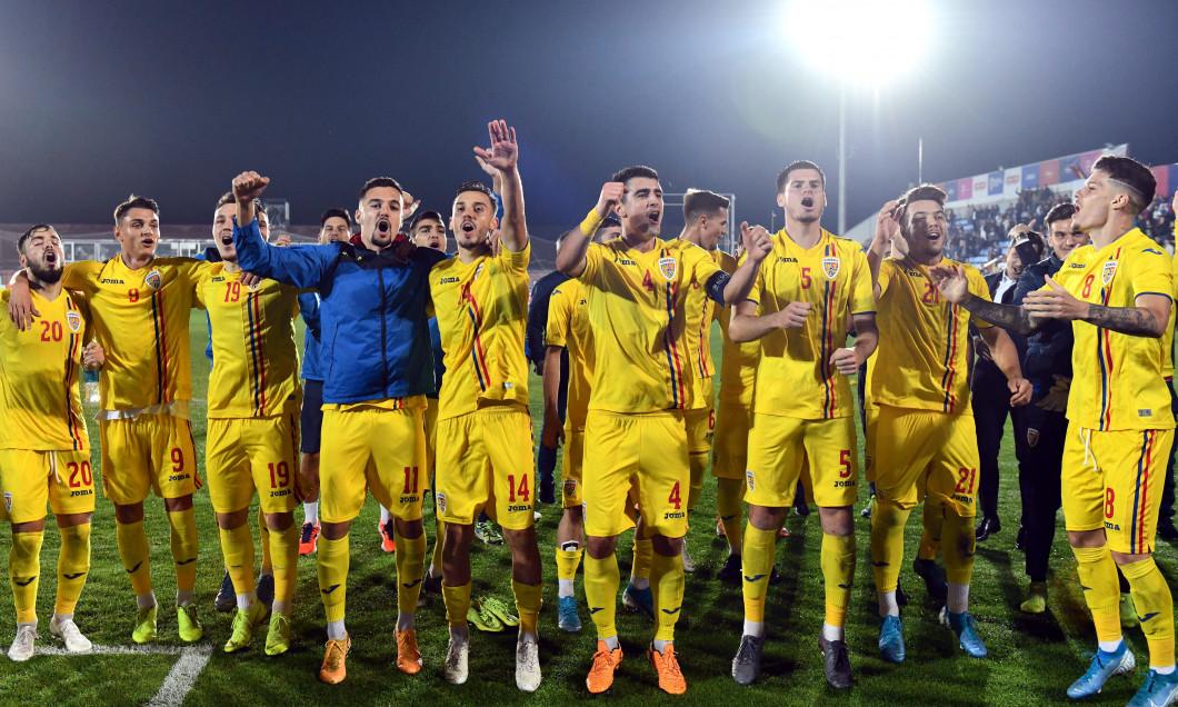 FOTBAL:ROMANIA U21-IRLANDA DE NORD U21, PRELIMINARIILE C.E. 2021 (14.10.2019)