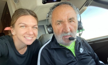 Simona Halep Ion Tiriac-pilot