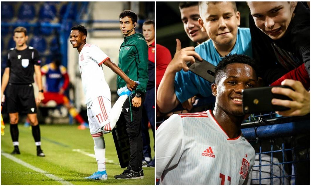 Ansu Fati Spania U21