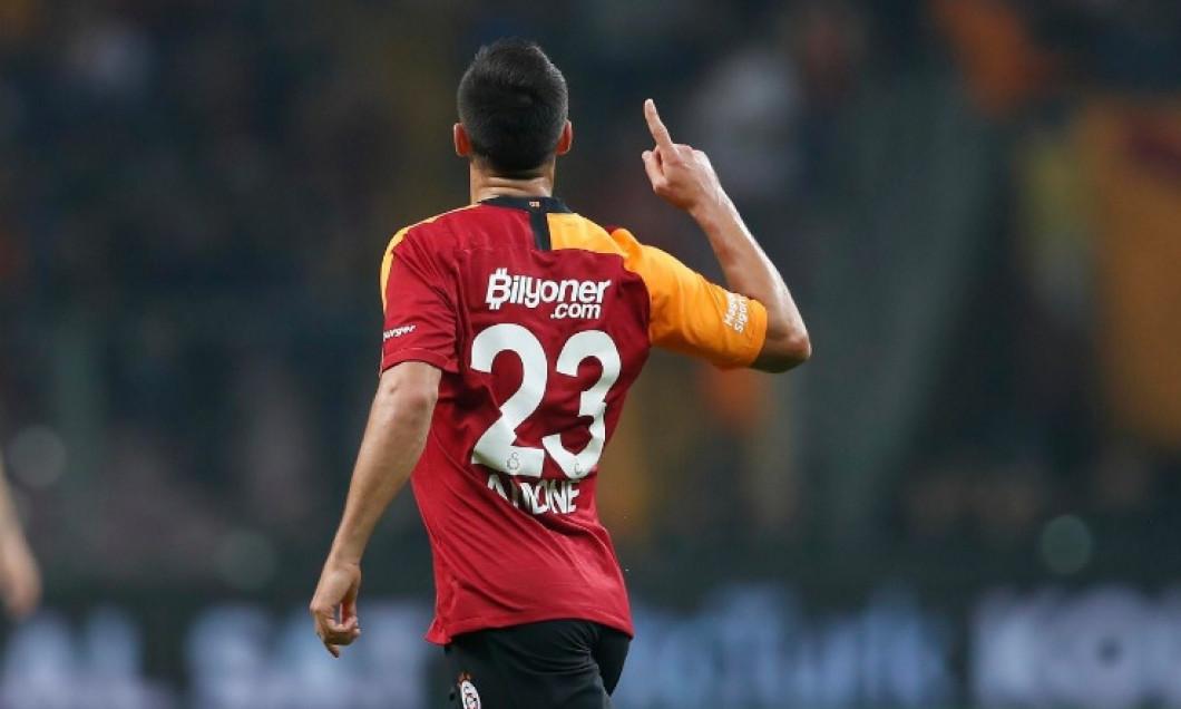 Florin Andone, în tricoul lui Galatasaray