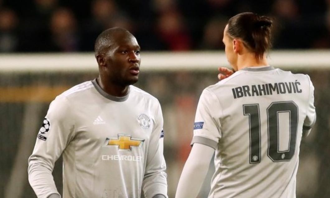 Zlatan Ibrahimovic Romelu Lukaku