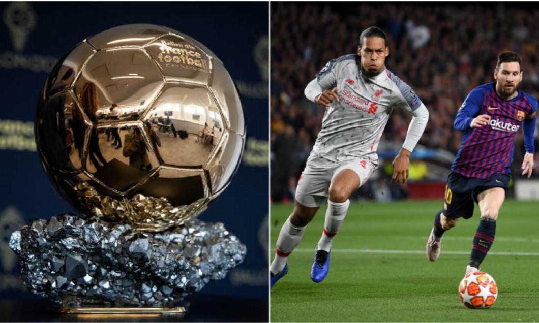 Messi Van Dijk Balonul de Aur