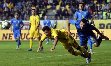FOTBAL:ROMANIA U21-UCRAINA U21, PRELIMINARIILE C.E. 2021 (10.10.2019)