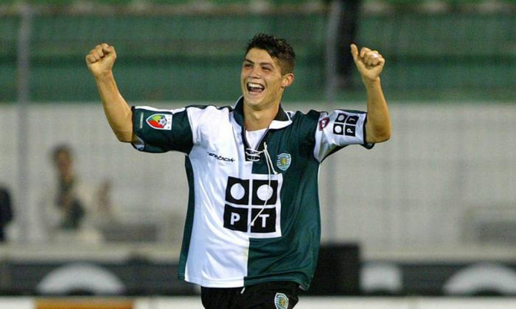 Cristiano Ronaldo Sporting Lisabona