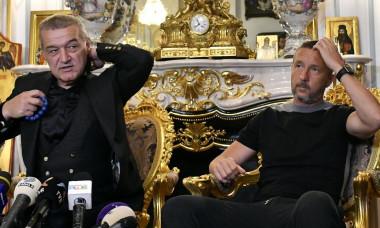 Gigi Becali și MM Stoica