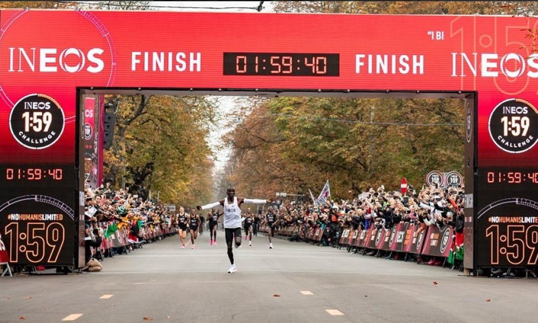 sosire campion maraton