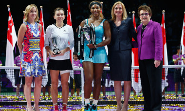 BNP Paribas WTA Finals: Singapore 2014 - Day Seven
