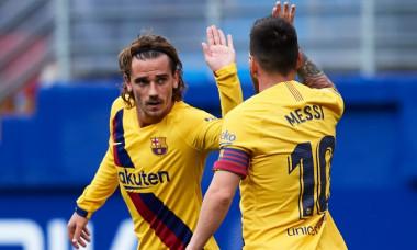 Leo Messi și Antoine Griezmann