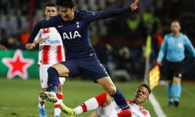 Heung-Min Son, Crvena Zvezda v Tottenham Hotspur: Group B - UEFA Champions League
