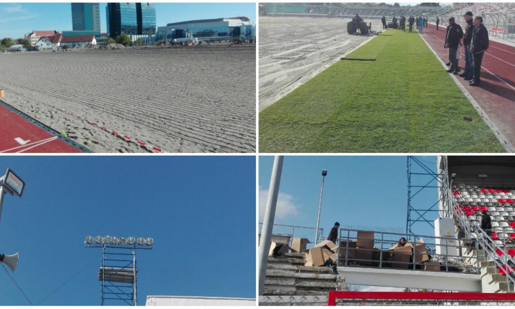 collage stadion sibiu