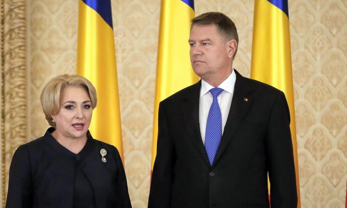Viorica Dancila Klaus Iohannis