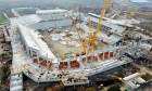 Stadion Steaua Foto Ministerul Dezvoltarii