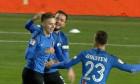 Louis Munteanu a marcat al doilea gol pentru Viitorul in meciul cu Sepsi