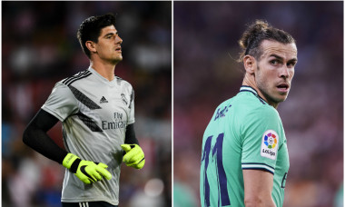 Courtois Bale Real Madrid