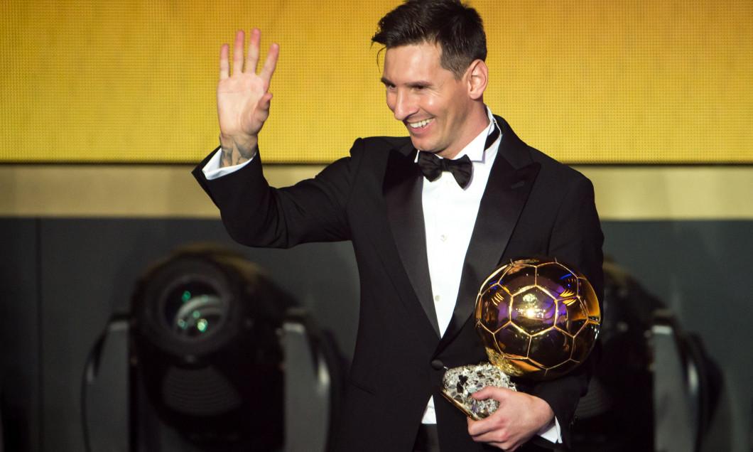 Leo Messi Balonul de Aur 2015