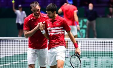 Rusia a învins Serbia în sferturile Cupei Davis, după un final dramatic