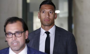 Israel Folau Mediation Meeting With Rugby Australia