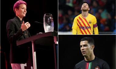 Rapinoe Messi Ronaldo