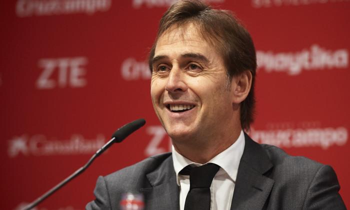 Julen Lopetegui Announced As New Sevilla FC Manager