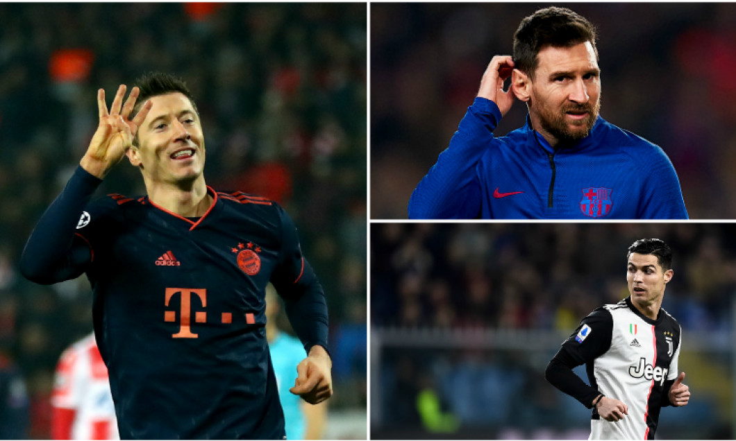 robert Lewandowski messi ronaldo