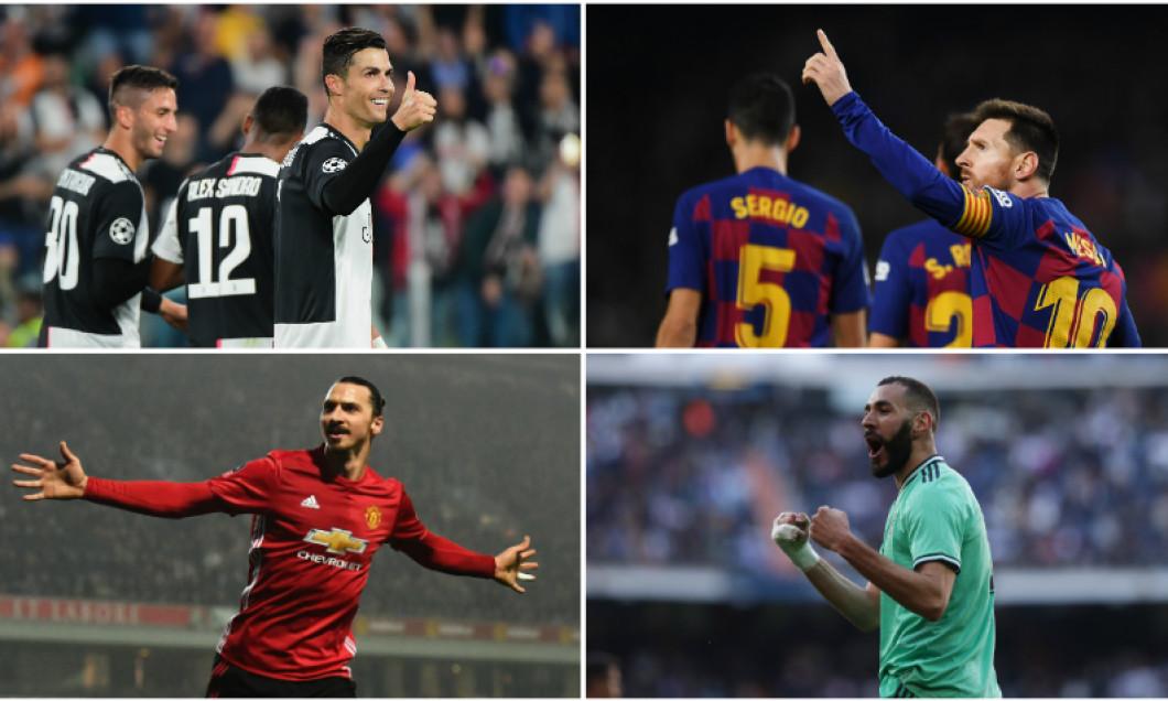 Top 10 marcatori Europa