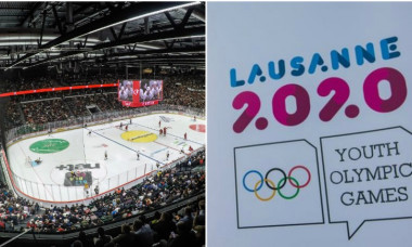 Vaudoise Arena jocurile olimpice de tineret