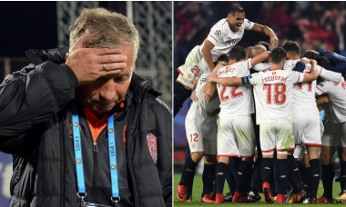Dan Petrescu Sevilla CFR Cluj