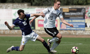 U17 Scotland v U17 Germany - UEFA Under17 European Championship Qualifier