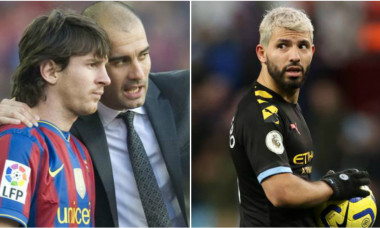 Guardiola Messi Aguero