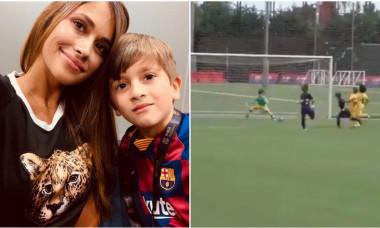Leo Messi Antonela Barcelona