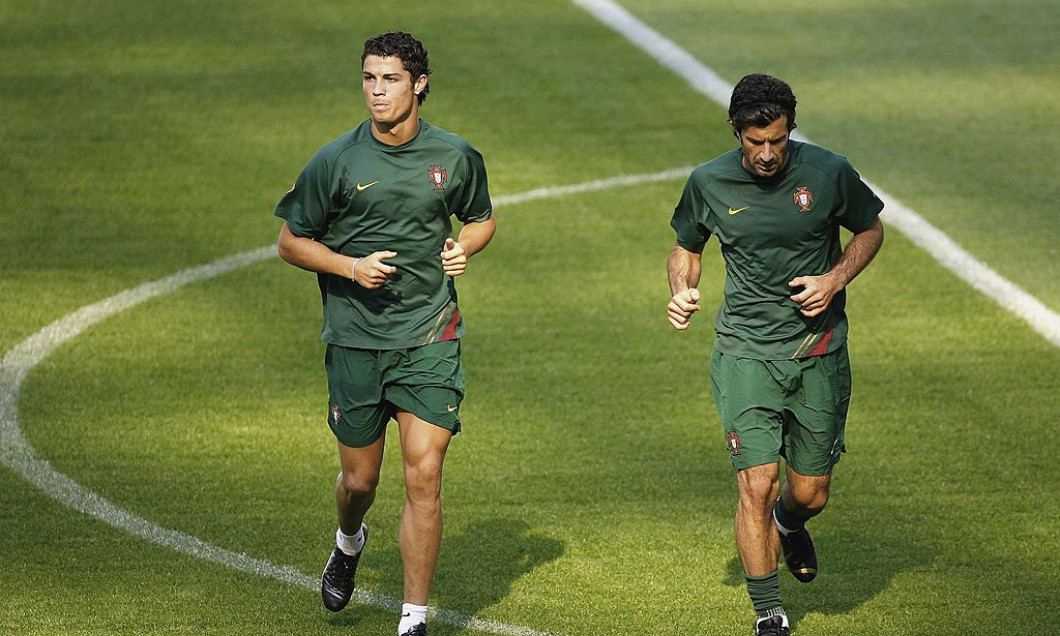 Portugal Training and Press Conference - World Cup 2006