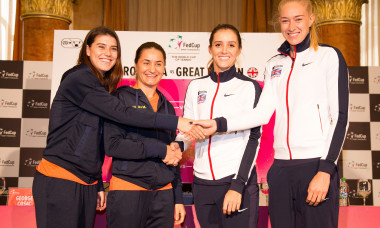 Romania v Great Britain - Fed Cup: World Group II Play Off: Previews