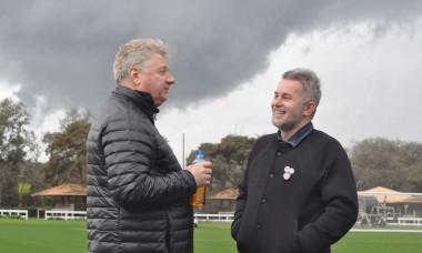 Ion Mărginean şi Valentin Iordănescu