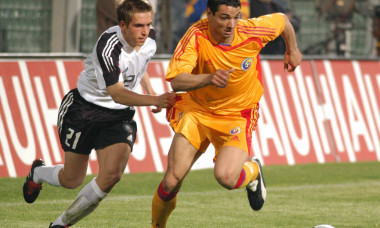 FOTBAL:ROMANIA-GERMANIA 5-1,AMICAL (28.04.2004)