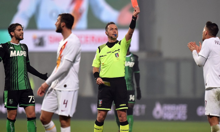 US Sassuolo v AS Roma