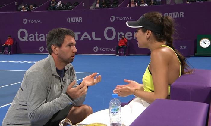 cirstea on court coaching