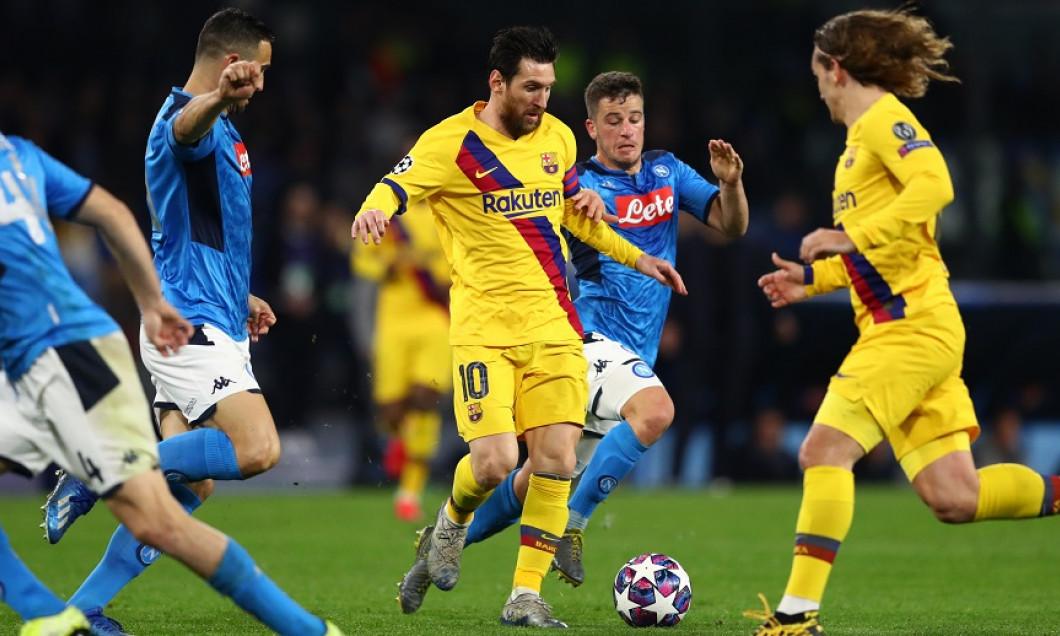 SSC Napoli v FC Barcelona